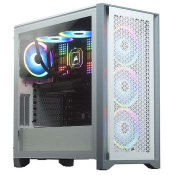 Image for Corsair 4000D Airflow Tempered Glass Mid-Tower ATX Case - White AusPCMarket