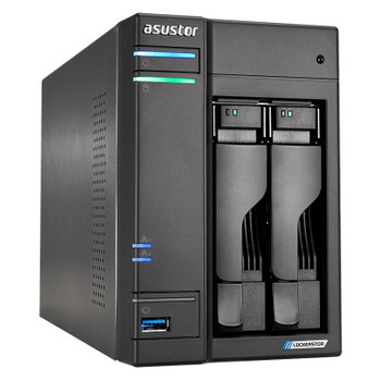 Image for Asustor AS6602T 2-Bay Diskless NAS Quad-Core Celeron CPU 4GB RAM AusPCMarket