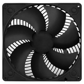Image for SilverStone AP183 180mm PWM Case Fan - Black AusPCMarket