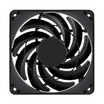 Image for SilverStone FN124 120mm Slim Case Fan - Black AusPCMarket