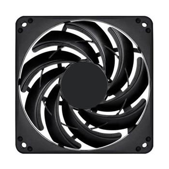 Image for SilverStone FN124 120mm Slim Case Fan - Black AusPCMarket