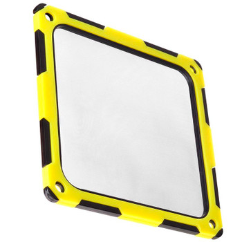 Image for SilverStone FF124BY 120mm Fan Filter - Black/Yellow AusPCMarket