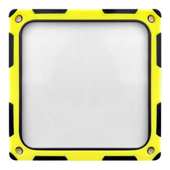 SilverStone FF124BY 120mm Fan Filter - Black/Yellow Product Image 2
