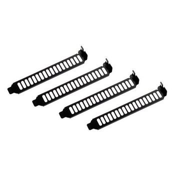 Image for SilverStone AEROSLOTS-BP 4x Vented Slot Covers - Black AusPCMarket