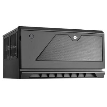 SilverStone CS381 Micro-ATX NAS Case - Black Product Image 2