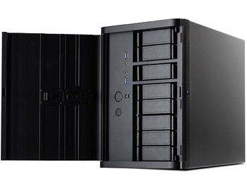 Image for SilverStone Black DS380 8 Bay Hot Swap SFF Chassis AusPCMarket