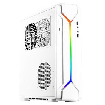 Image for SilverStone Raven RVZ03 ARGB Mini ITX Case - White AusPCMarket