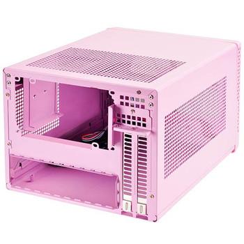 SilverStone Sugo Series SG13P Mini-ITX Case - Pink Product Image 2