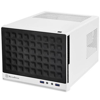 Image for SilverStone Sugo Series SG13WB Small Form Factor Mesh Front Case - White/Black AusPCMarket