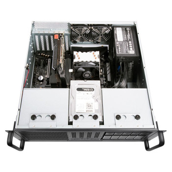 SilverStone RM41-506 4U 6-Bay 5.25in Rackmount Case - Black Product Image 2