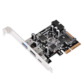 Image for SilverStone ECU05 USB 3.1 Controller Card AusPCMarket
