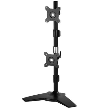 Image for SilverStone ARM24BS Vertical Dual Monitor Desk Stand AusPCMarket