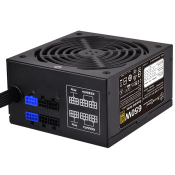 SilverStone Essential ET650-HG V1.2 650W 80 PLUS Gold Semi-Modular Power Supply Product Image 2