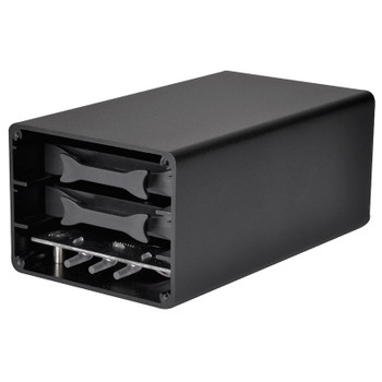 Image for SilverStone DS223 2.5in 2 Bay USB 3.1 Gen 2 External RAID Enclosure AusPCMarket