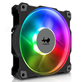 In Win Jupiter AJ120 120mm ARGB PWM Case Fan - 3 Pack with Controller Product Image 2