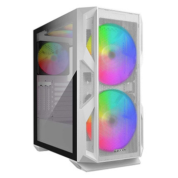 Image for Antec NX800 RGB Tempered Glass Mid-Tower E-ATX Case - White AusPCMarket
