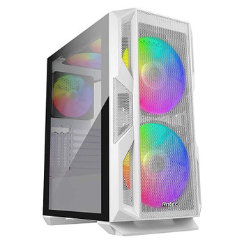 Antec NX800 RGB Tempered Glass Mid-Tower E-ATX Case - White Product Image 2