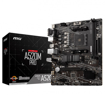 Image for MSI A520M PRO AM4 Micro-ATX Motherboard AusPCMarket