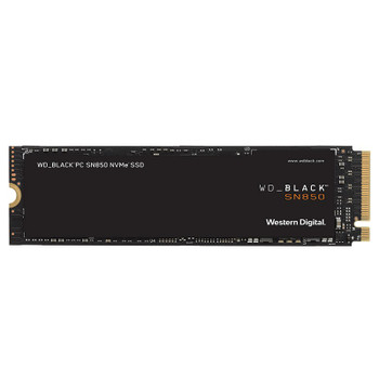 Image for Western Digital WD Black SN850 WDS100T1X0E 1TB NVMe M.2 PCIe Gen4 x4 SSD - Without Heatsink AusPCMarket