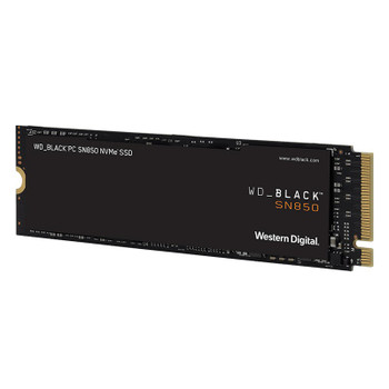 Western Digital WD Black SN850 WDS500G1X0E 500GB NVMe M.2 PCIe Gen4 x4 SSD - Without Heatsink Product Image 2
