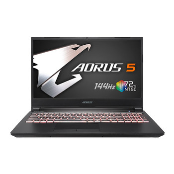 Image for Gigabyte AORUS 5 MB 15.6in 144Hz Gaming Laptop i5-10200H 16GB 512GB 1650Ti Win10H AusPCMarket