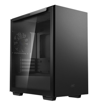Image for Deepcool MACUBE 110 Tempered Glass Mini Tower Micro-ATX Case - Black AusPCMarket