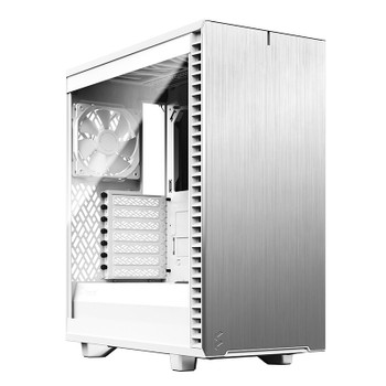 Image for Fractal Design Define 7 Compact Light Tempered Glass Mid-Tower ATX Case - White AusPCMarket