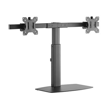 Image for Brateck Dual Screen Pneumatic Vertical Lift Monitor Stand - 17in-27in AusPCMarket