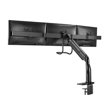 Brateck LDT43-C031 Triple Monitors Select Gas Spring Aluminum Monitor Arm Product Image 2