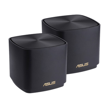 Image for Asus ZenWiFi AX Mini XD4 Dual Band WiFi 6 Gigabit System - 2 Pack (Black) AusPCMarket