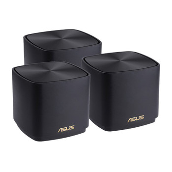 Image for Asus ZenWiFi AX Mini XD4 Dual Band WiFi 6 Gigabit System - 3 Pack (Black) AusPCMarket