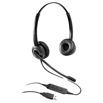 Image for Grandstream GUV3000 HD Stereo USB Headset with Noise Cancelling Mic AusPCMarket