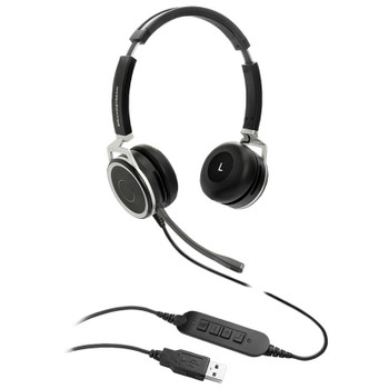 Image for Grandstream GUV3005 HD Stereo USB Headset with Noise Cancelling Mic AusPCMarket
