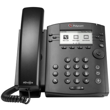 Image for Polycom VVX 311 6-Line IP Phone with 2x 10/100 RJ45 Ports and Lync Licence AusPCMarket