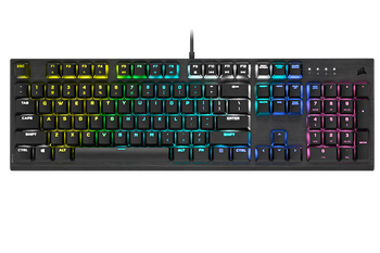 Image for Corsair K60 RGB PRO Low Profile Mechanical Gaming Keyboard - CHERRY MX Low Profile Speed AusPCMarket