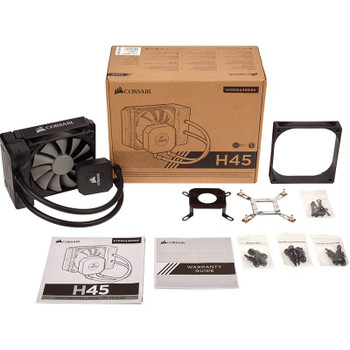 Corsair Hydro Series H45 Liquid CPU Cooler Product Image 2