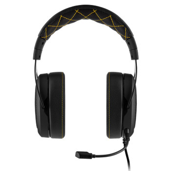 Corsair HS60 Pro Surround Gaming Headset - Yellow Product Image 2