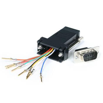 StarTech DB9 to RJ45 Modular Adapter - M/F Main Product Image