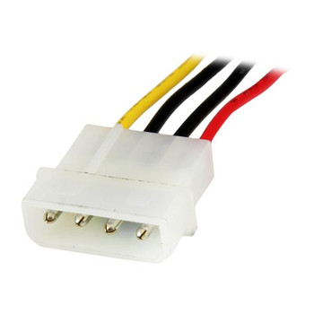 StarTech 12in LP4 Extender Cable 4pin Molex Power Extension Product Image 2
