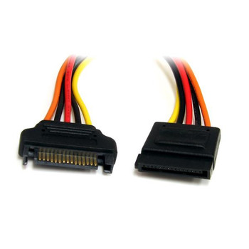 Image for StarTech 12in SATA Power Extension Cable Cord - 15Pin SATA Power M/F AusPCMarket