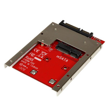 StarTech mSATA SSD to 2.5in SATA Adapter Converter w/ Open Frame Product Image 2