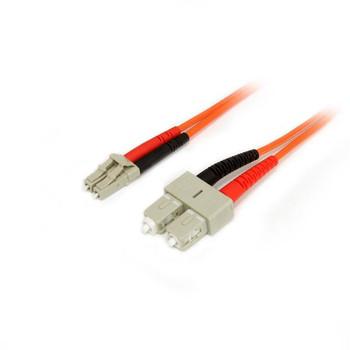Image for StarTech 1m Fiber Optic Cable - Multimode Duplex 50/125 LSZH - LC/SC AusPCMarket