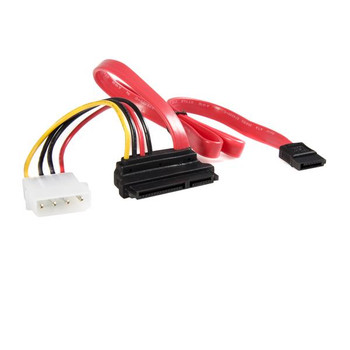 Image for StarTech 18in Upward Right Angle SATA Cable with LP4 Adapter AusPCMarket