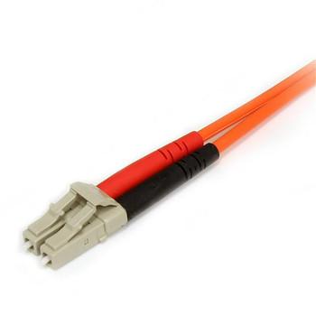 StarTech 5m Fiber Optic Cable - Multimode Duplex 62.5/125 LSZH LC/SC Product Image 2