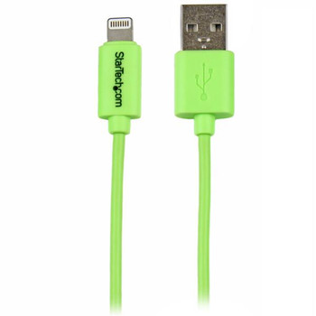 Image for StarTech 1m Green Lightning to USB Cable iPhone iPod iPad AusPCMarket