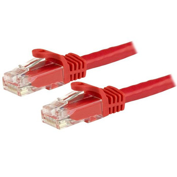 Image for StarTech 1.5 m CAT6 Cable - Patch Cord - Red - Snagless AusPCMarket