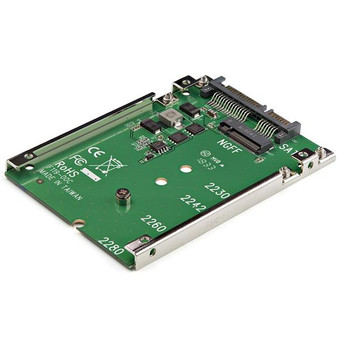 StarTech M.2 SSD to 2.5in SATA Adapter - M.2 SSD to SATA Converter Product Image 2