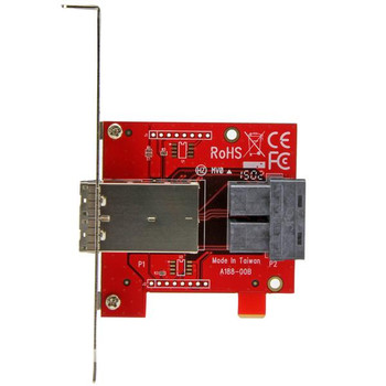 StarTech Mini-SAS Adapter - Dual SFF-8643 to SFF-8644 - 12Gbps Product Image 2