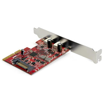 StarTech 2 Port PCIe USB 3.1 Card - 2x USB C - Up to 10Gbps Product Image 2