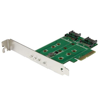 Image for StarTech 3Port M.2 NGFF SSD Card Adapter - PCI Express 3.0 M.2 Card AusPCMarket